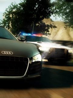 Динамичная картинка с изображением спорткара Audi R8