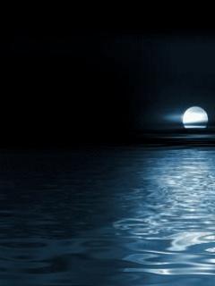 Лунный свет, отражающийся от воды